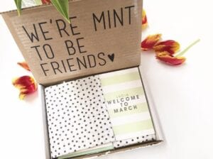 My paper box march stationery box