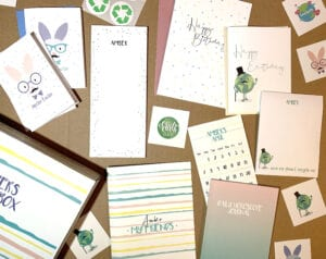 Easter stationery box