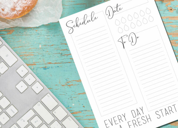Daily Planner Notepad | Corporate Gifts | Writing Pad | Paper Planner