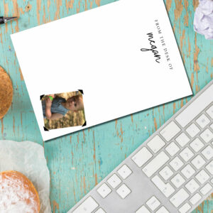 Custom Photo & Name Notepad | Your photo of choice