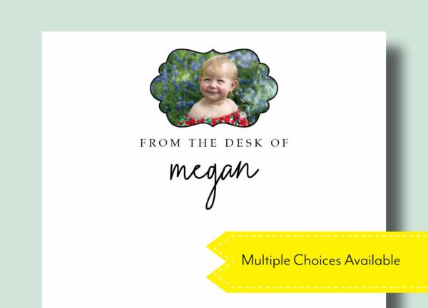 Gift Idea for Mom | Custom Photo Design | To Do List Notepad | Personal Photo