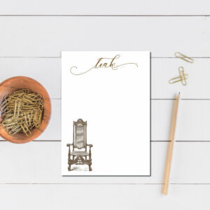 Personalized Notepad | Letter Writing Set |To do list notepad | Desk organization