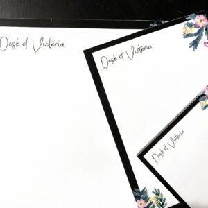 From the desk of | Letter Writing Set |To do list notepad | Desk organization