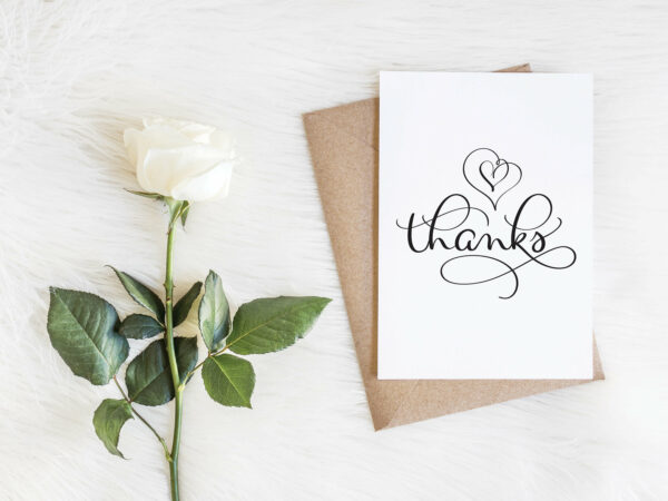 Thank You Card Set | Envelopes Included | Party Thank you  | Greeting Card | Wedding Thank you card