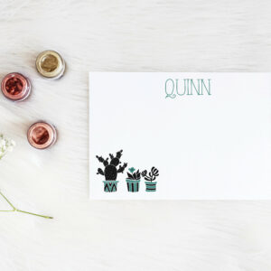 Personalized Notecard | Desk organization | Plotter Card | Desk Card | Desk accessories