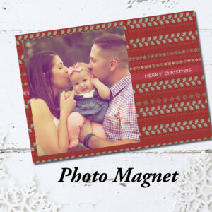 Holiday photo magnet | Photo Christmas Cards | Envelopes Included | Holiday Card Set  | Greeting Card |  Cross-stitch Christmas designs