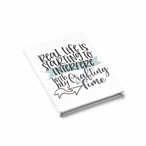 Crafting Lover -  Hard Cover Journal - Ruled Line